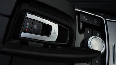 Mercedes E400 Cabriolet roof button