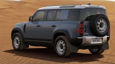 James Batchelor Land Rover Defender rear
