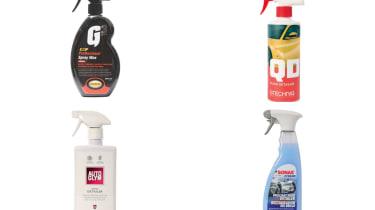 Best spray detailing wax