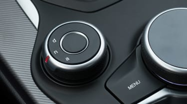 Alfa Romeo Giulia - drive mode