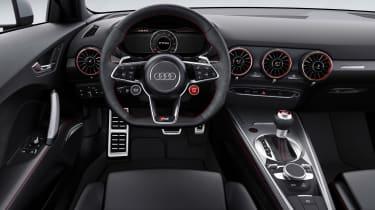 Audi TTRS 2016 - coupe interior