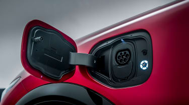 Ford Mustang Mach-E - charging port