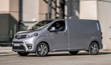 Toyota Proace electric - front