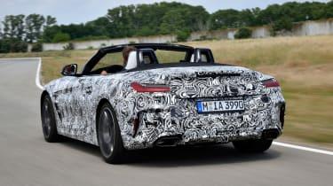 BMW Z4 prototype - rear