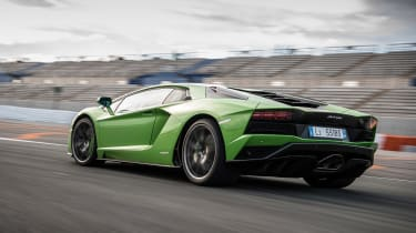 Lamborghini Aventador S - rear