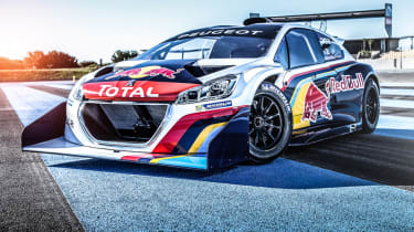 Pikes Peak Peugeot 208 T16 final livery