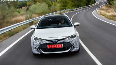 Toyota Corolla Touring Sports prototype - full front