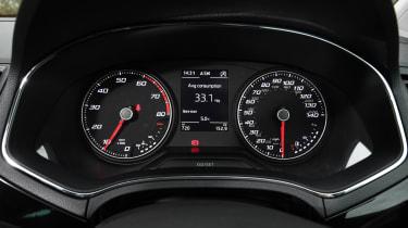 Seat Ibiza FR- dials