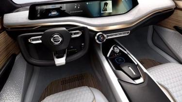 Nissan Vmotion 2.0 concept - interior