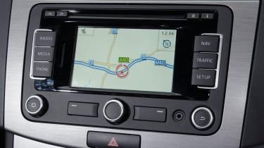 Volkswagen Passat Estate screen detail