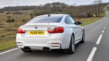 BMW M4 Competition Pack - rear