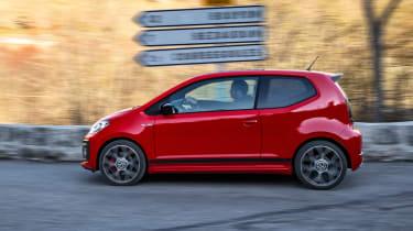 Volkswagen up! GTI - side action