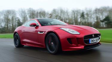 Jaguar F-Type R - front
