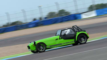 Long-term test review: Caterham 270S - fourth report side tracking
