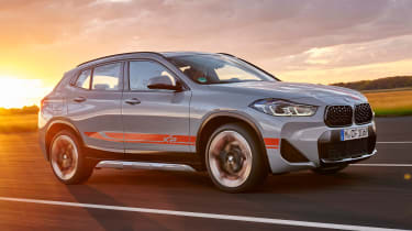 BMW X2 M Mesh Edition - front sunset