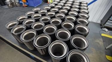 Suppliers in demand - Carbon fibre exhaust trim