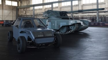 Fast and Furious Live - military vehicles