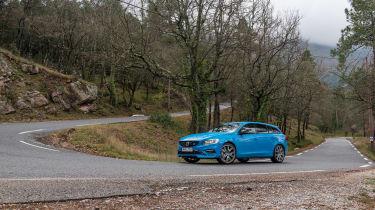Volvo V60 Polestar - cornering