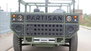 New Partisan One - front grille