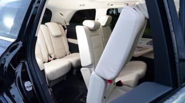Mercedes GLS - seat config