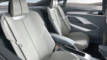 Audi e-tron Sportback concept - rear seats