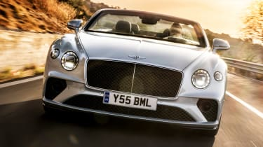 Bentley Continental GT Speed Convertible - full front