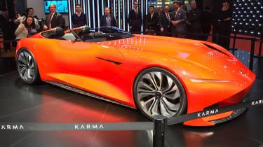 Karma SC1 Vision Concept - Shanghai front