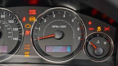 Jeep Grand Cherokee dash lights
