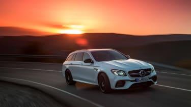 Mercedes-AMG E 63 Estate - sunset