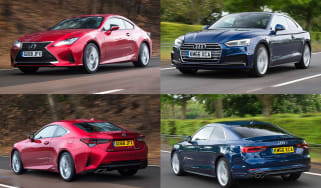 Lexus RC vs Audi A5 - header