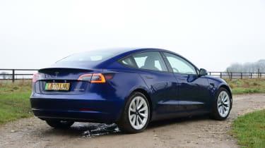 Tesla Model 3 Long Range - rear static
