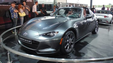 Mazda MX-5 RF - front Goodwood