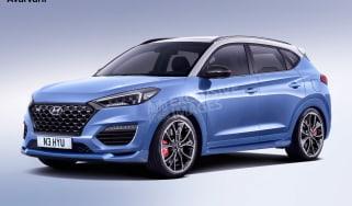 Hyundai Tucson N - front (watermarked)