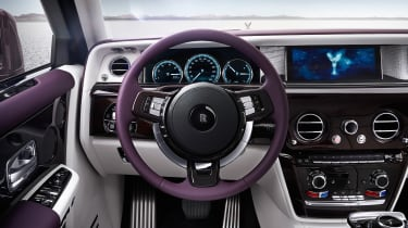 Rolls-Royce Phantom - dash