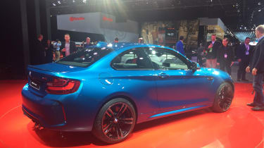 BMW M2 - rear quarter show 2