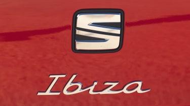 SEAT Ibiza facelift - rear badge