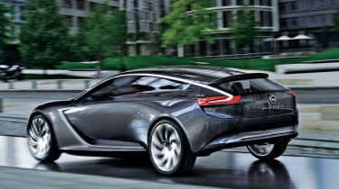 Vauxhall Opel Monza concept coupe 2013 rear