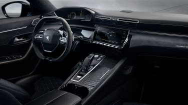 Peugeot 508 Sport Engineered concept - dash