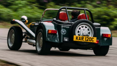 Caterham Seven road trip - Seven Prisoner rear