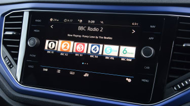 Volkswagen T-Roc R - radio