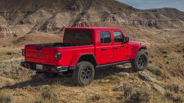 Jeep Gladiator rear quarter static