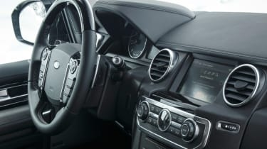 Land Rover Discovery XXV interior