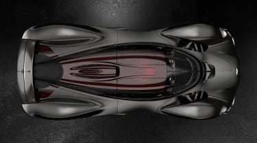 Aston Martin Valkyrie Ultimate - above