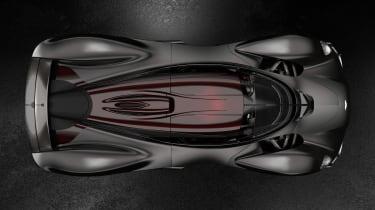 Aston Martin Valkyrie Ultimate - above