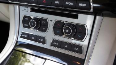 Used Jaguar XF - centre console