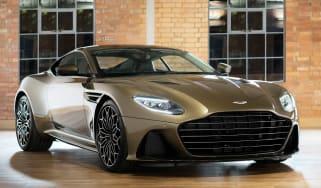 Aston Martin DBS Superleggera On Her Majesty's Secret Service - front