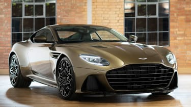 Aston Martin DBS Superleggera On Her Majesty's Secret Service - front