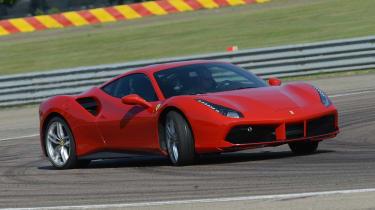 Ferrari 488 GTB drift