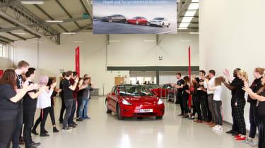 Tesla Model 3 delivery