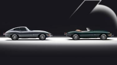 Jaguar E-Type 60 Collection - side
